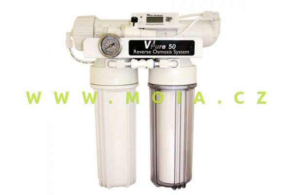 V2Pure 50 Advanced RO System inc in-Line TDS Monitor