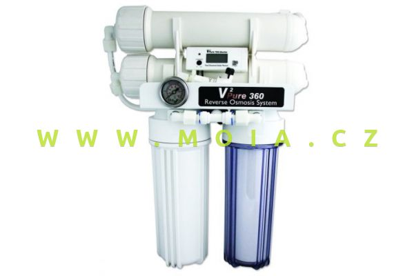 V2Pure 360 Advanced RO System inc in-Line TDS Monitor