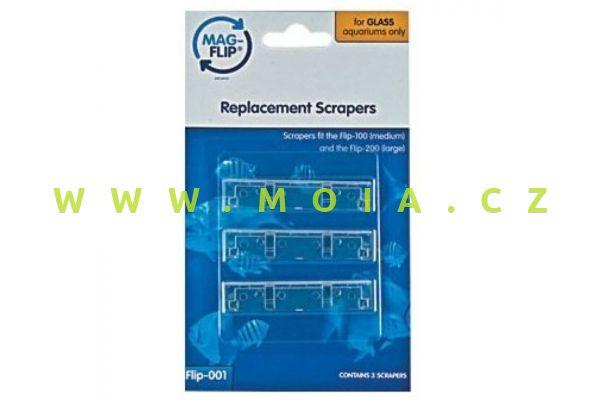 Mag-Flip scraper blades