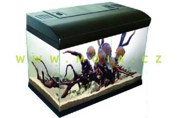 Acquarium MIR 60 (Mira Filter +Heater VTO 100W + 1 x PL 24W light) - Black