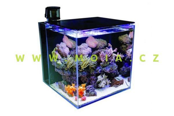 AquaHabitats MicroHabitat 30 White - Optiwhite Glass