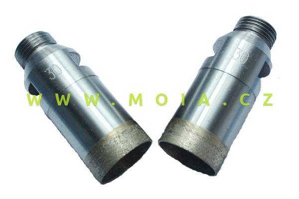 Diamond glass drill O28