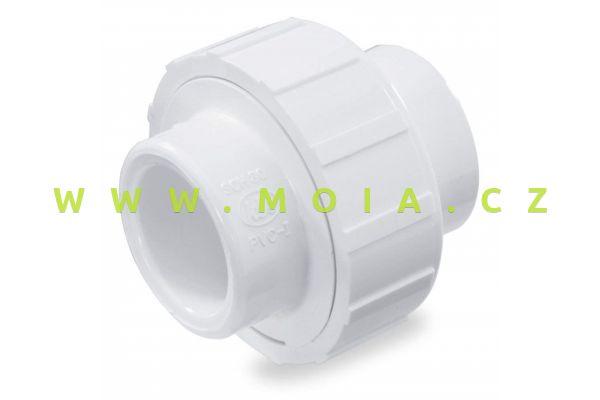 PVC-U, PN16, White Union-40mm