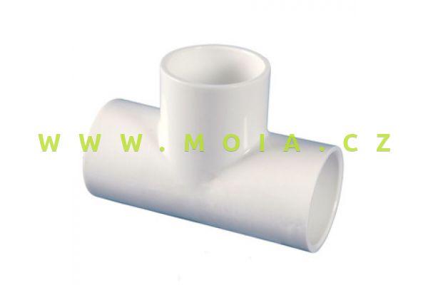 PVC-U, PN16, White Tee-40mm