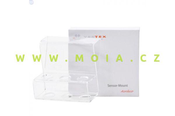 Sensor-Mount Acrilico, 2 * 12mm  and 1 * 15mm Sensor Slots