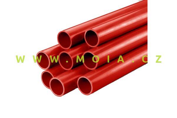 50mm - Red PVC Tube