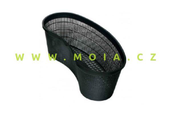 Planting basket, bowed, 45x18 cm