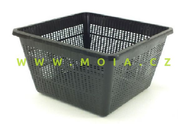 Planting basket, square, 23x23 cm
