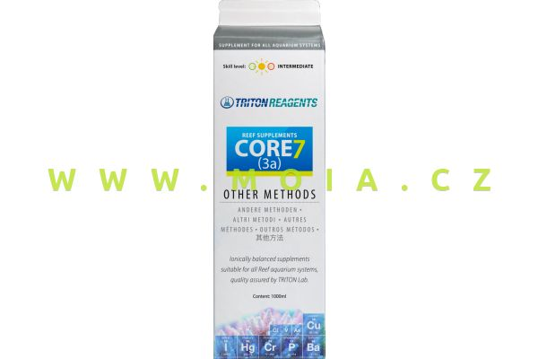 CORE7 Individual Reef Supplements Botle 3a, 1l concentrate