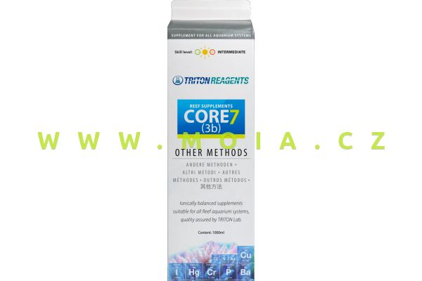CORE7 Individual Reef Supplements Botle 3b, 1l concentrate