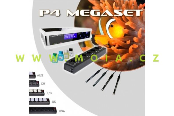 ProfiLux 4 Mega-Set, Weiß, Schuko