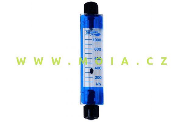 Air flow meter 50 to 1 000 L/h