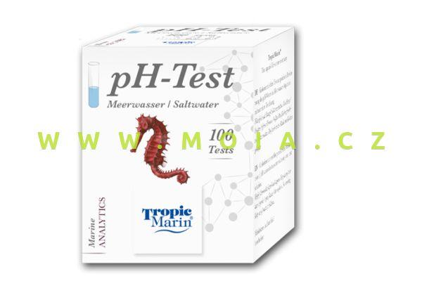 pH test Seawater