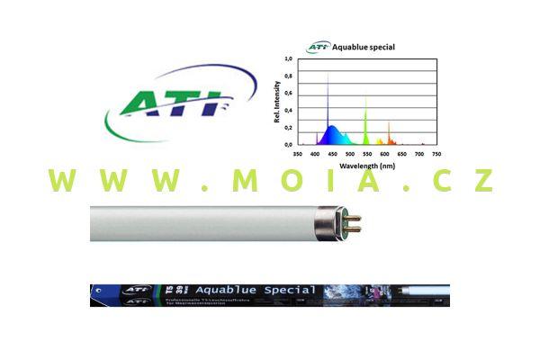 Fluorescent tube  ATI AQUABLUE spezial 54 Watt
