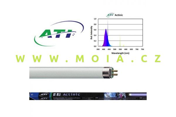 Fluorescent tube  ATI actinic 39 Watt