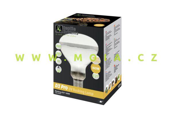 D3 UV Basking Lamp - 160watt - E27