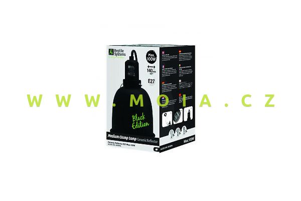 Clamp Lamp Black Edition Mediuml ? 140mm