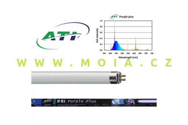 Fluorescent tube Purple Plus 54 Watt