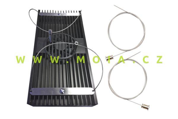 AI Seilaufhängung Einzelleuchte HD32/64 Wire 05 + Montageschrauben