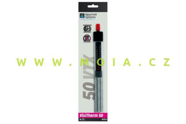 VisiTherm - Aquarium Heater VTX 50, 50W