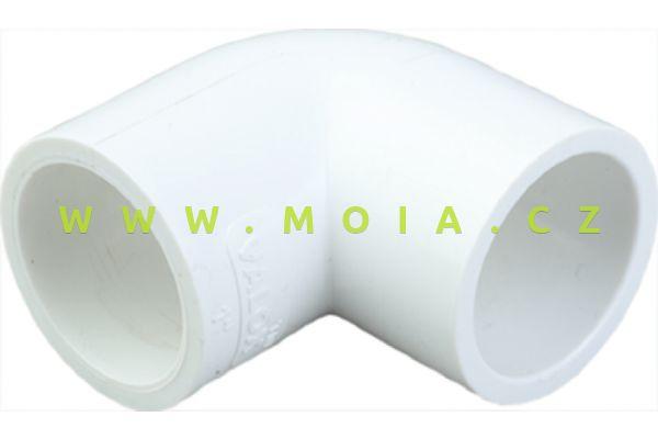 PVC-U, PN16, White 90°Elbow-20mm