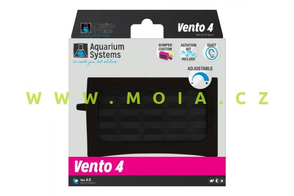 VENTO 4.0 Aquarium Air Pump (Silent & Powerful)