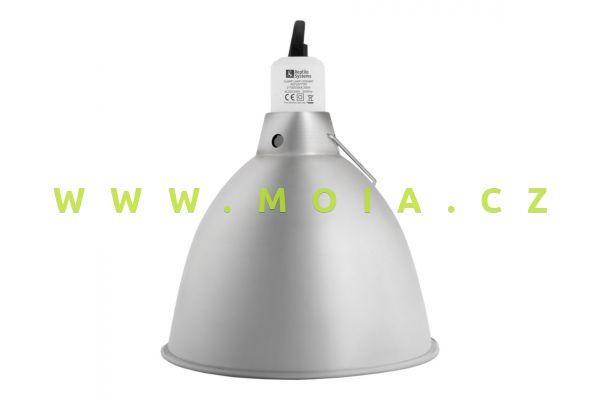 "Ceramic Reflector Clamp Lamp small NEW  O 140mm / 5,5"""