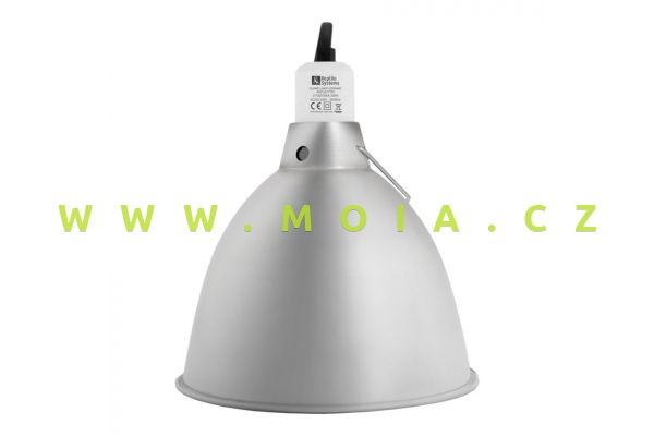 "Ceramic Reflector Clamp Lamp medium NEW  O 140mm / 5,5"""