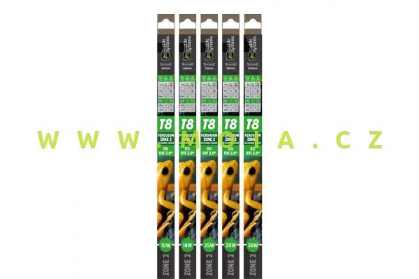Reptile T8 Lamps Zone 2 UVI 2.0  450mm - 15W