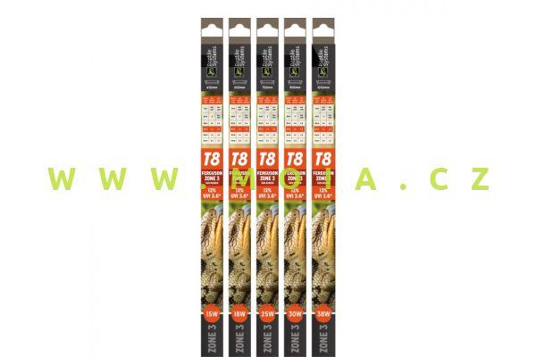 Reptile T8 Lamps Zone 3 UVI 3.6 450mm - 15W