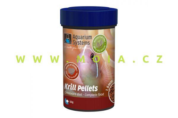 Krill Pellets - Omnivore 1,5mm - 100ml - 55g